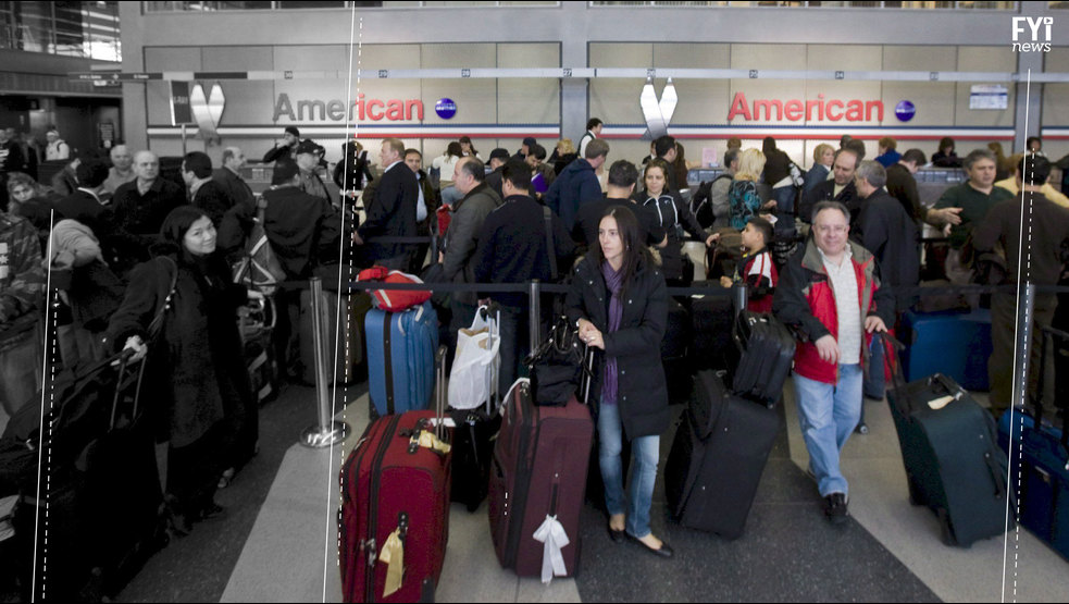 Airlines and Passengers At War
